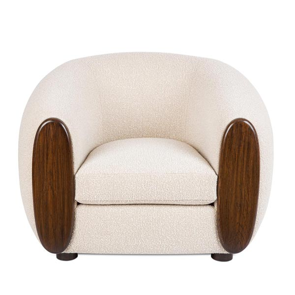 WC4139 White Lounge Chair